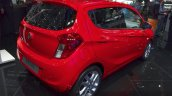 Vauxhall Viva rear three quarters at the 2015 Geneva Motor Show