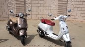 Vespa Elegante front three quarter