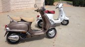 Vespa Elegante rear three quarter