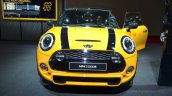 2014 Mini Cooper front at the 2014 Paris Motor Show