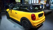 2014 Mini Cooper rear three quarters at the 2014 Paris Motor Show
