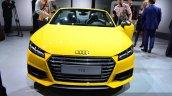 2015 Audi TTS Roadster front at the 2014 Paris Motor Show