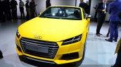 2015 Audi TTS Roadster front quarter at the 2014 Paris Motor Show