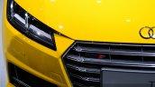 2015 Audi TTS Roadster headlight at the 2014 Paris Motor Show