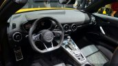 2015 Audi TTS Roadster interior at the 2014 Paris Motor Show