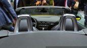 2015 Audi TTS Roadster rear end at the 2014 Paris Motor Show