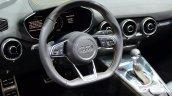 2015 Audi TTS Roadster steering at the 2014 Paris Motor Show
