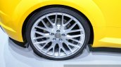 2015 Audi TTS Roadster wheel at the 2014 Paris Motor Show
