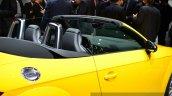 2015 Audi TTS Roadster window line at the 2014 Paris Motor Show