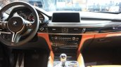 2015 BMW X6 M dashboard at the 2014 Los Angeles Auto Show