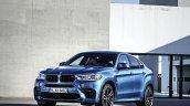 2015 BMW X6 M front quarters