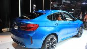 2015 BMW X6 M rear three quarters at the 2014 Los Angeles Auto Show
