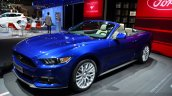 2015 Ford Mustang convertible at the 2014 Paris Motor Show