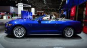 2015 Ford Mustang convertible side at the 2014 Paris Motor Show