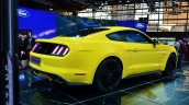 2015 Ford Mustang rear three quarters at the 2014 Paris Motor Show