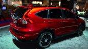 2015 Honda CR-V rear three quarters at the Paris Motor Show 2014
