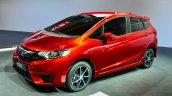 2015 Honda Jazz prototype for Europe at 2014 Paris Motor Show