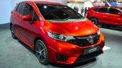 2015 Honda Jazz prototype for Europe front three quarter at 2014 Paris Motor Show