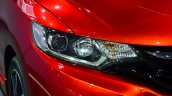 2015 Honda Jazz prototype for Europe headlamp at 2014 Paris Motor Show