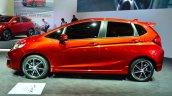 2015 Honda Jazz prototype for Europe side at 2014 Paris Motor Show