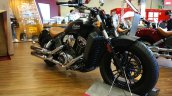 2015 Indian Scout front three quarters at INTERMOT 2014