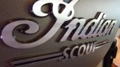 2015 Indian Scout in India badge