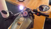 2015 Indian Scout in India instrument console