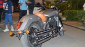 2015 Indian Scout in India rear three quarter