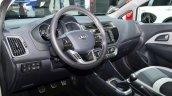 2015 Kia Rio interior at the 2014 Paris Motor Show