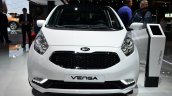 2015 Kia Venga front at the 2014 Paris Motor Show