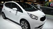 2015 Kia Venga front three quarter at the 2014 Paris Motor Show