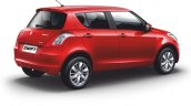 2015 Maruti Swift facelift rear quarters