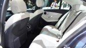 2015 Mercedes C Class rear seats at the 2014 Paris Motor Show.