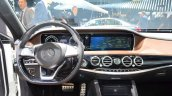 2015 Mercedes S500 Plug-in Hybrid centre console at the 2014 Paris Motor Show