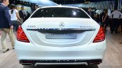 2015 Mercedes S500 Plug-in Hybrid rear at the 2014 Paris Motor Show