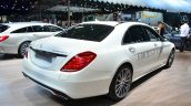 2015 Mercedes S500 Plug-in Hybrid rear three quarter at the 2014 Paris Motor Show