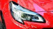 2015 Opel Corsa 3-door headlamp at the 2014 Paris Motor Show