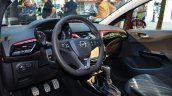 2015 Opel Corsa 3-door interior at the 2014 Paris Motor Show