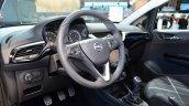 2015 Opel Corsa 5-door interior at the Paris Motor Show 2014
