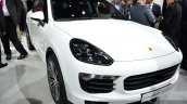 2015 Porsche Cayenne S E-Hybrid at the Paris Motor Show 2014 front three quarter