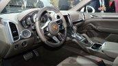 2015 Porsche Cayenne S E-Hybrid interior at the Paris Motor Show 2014