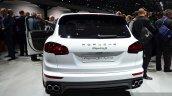 2015 Porsche Cayenne S E-Hybrid rear at the Paris Motor Show 2014