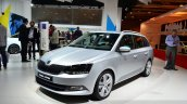 2015 Skoda Fabia Combi front three quarters left at the 2014 Paris Motor Show