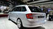 2015 Skoda Fabia Combi rear three quarters left at the 2014 Paris Motor Show
