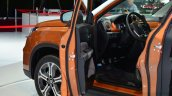 2015 Suzuki Vitara doors open at the 2014 Paris Motor Show