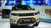 2015 Suzuki Vitara front at the 2014 Paris Motor Show