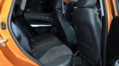 2015 Suzuki Vitara rear seat at the 2014 Paris Motor Show