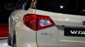 2015 Suzuki Vitara taillight at the 2014 Paris Motor Show