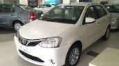 2015 Toyota Etios facelift front quarters