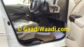 2015 Toyota Etios facelift spied footwell